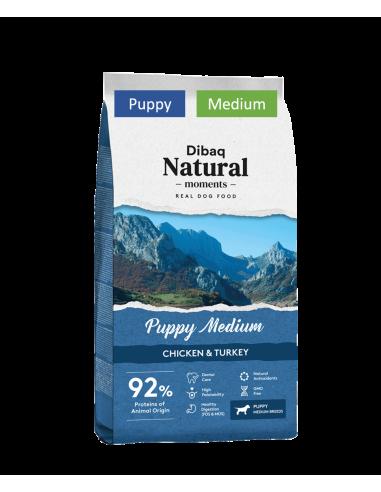 Dibaq Natural Moments Puppy Medium 3Kg